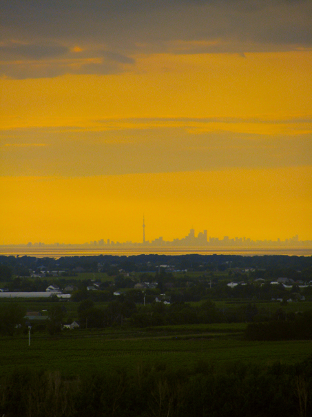 Toronto as viewed from Queenston
